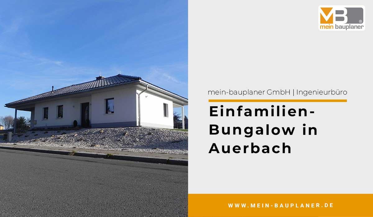Einfamilien-Bungalow in Auerbach 1