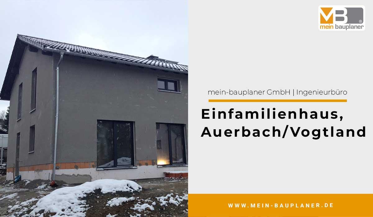 Einfamilienhaus in Auerbach Vogtland 1