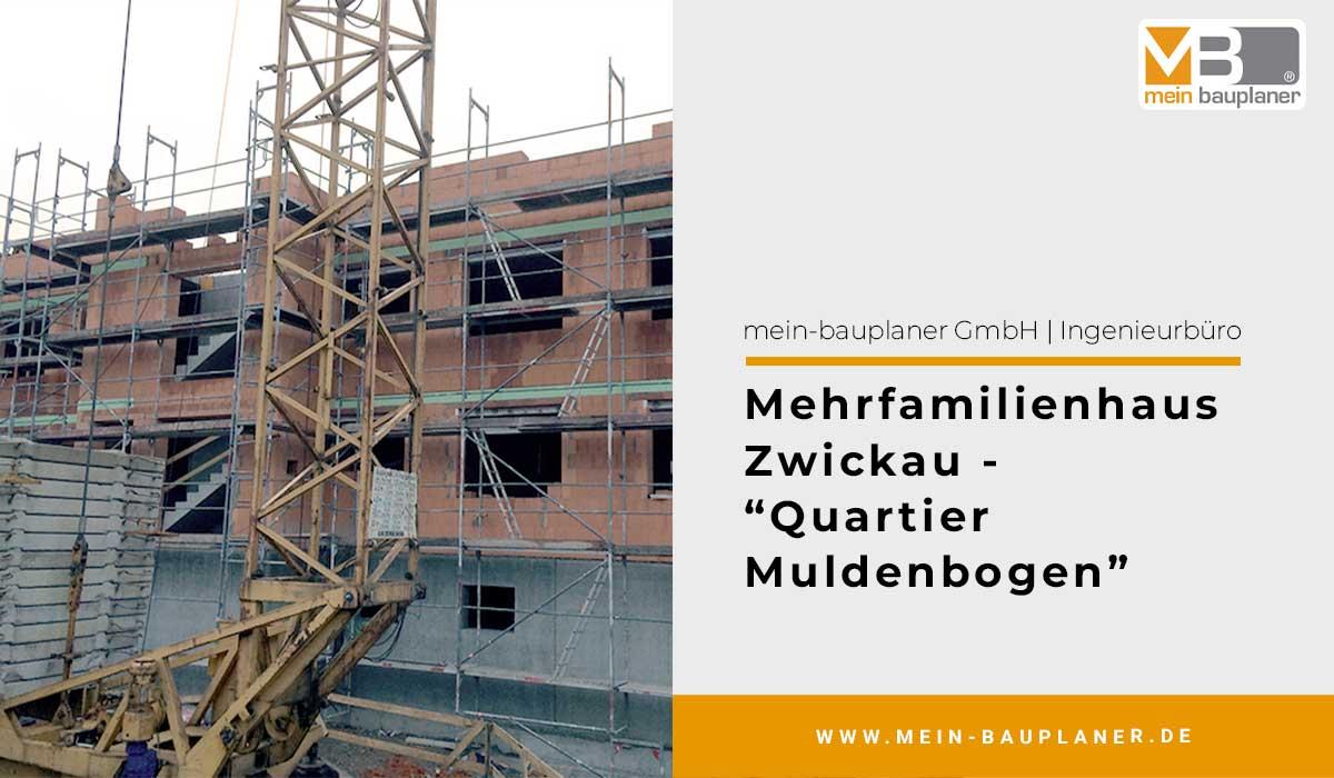 """Mehrfamilienhaus in Zwickau - """"Quartier Muldenbogen"""" 1"""