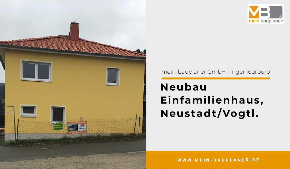 Neubau Einfamilienhaus in Neustadt/Vogtl. 1