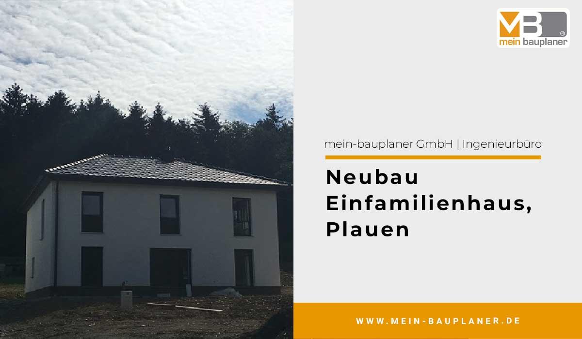 Neubau Einfamilienhaus in Plauen 1