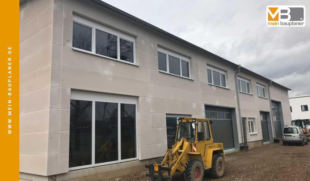 Neubau einer Werk- und Lagerhalle mit Ausstellung in Hartheim 2