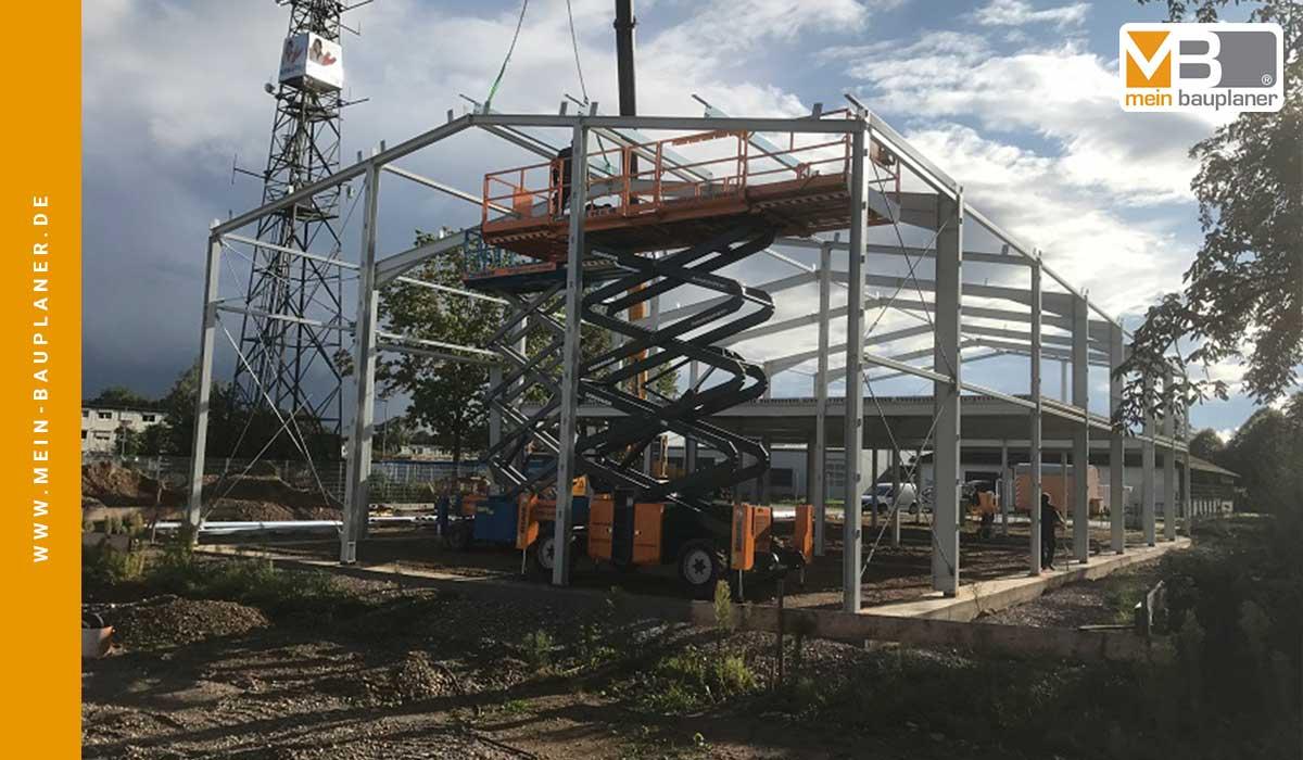 Neubau einer Werk- und Lagerhalle mit Ausstellung in Hartheim 4