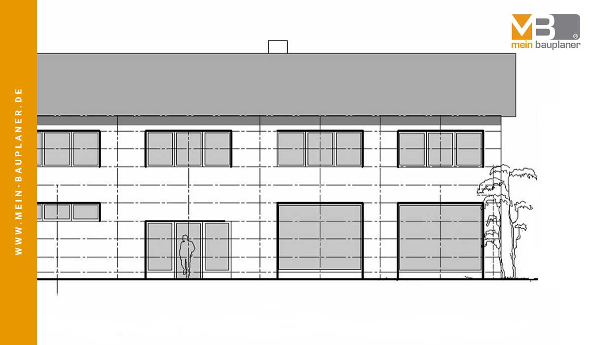Neubau einer Werk- und Lagerhalle mit Ausstellung in Hartheim 5