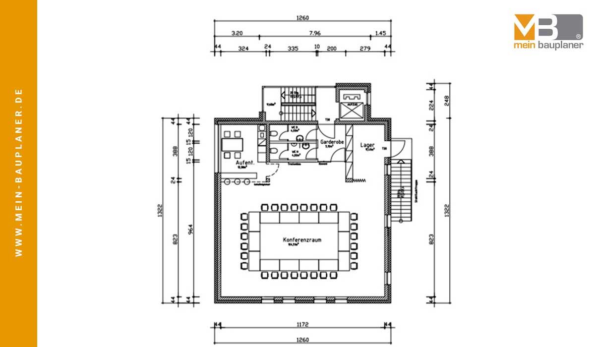 Ausführungsplanung für den Neubau einer Volksbankfiliale in Altenstadt 3