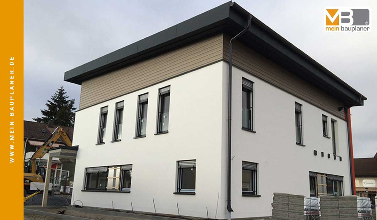 Ausführungsplanung für den Neubau einer Volksbankfiliale in Altenstadt 4