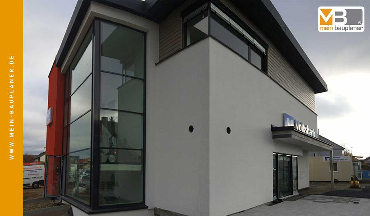 Ausführungsplanung für den Neubau einer Volksbankfiliale in Altenstadt 5