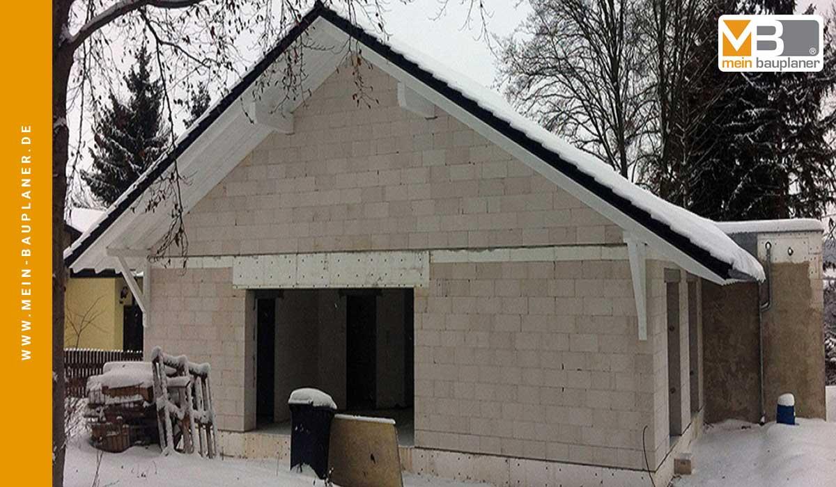 Errichtung Einfamilienhaus in Chrieschwitz 2