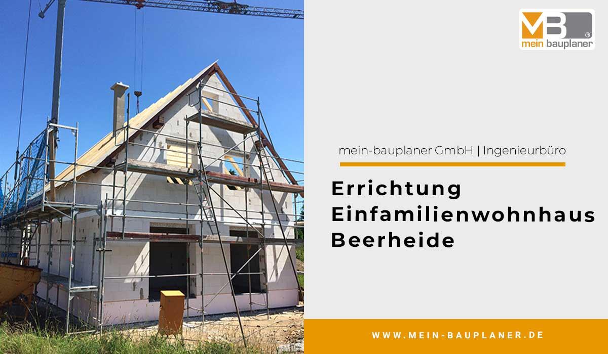 Errichtung Einfamilienwohnhaus, Beerheide 1