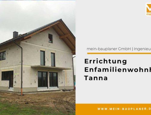 Errichtung Einfamilienwohnhaus, Tanna