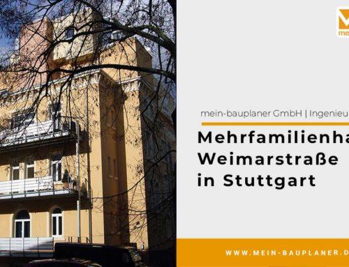 Mehrfamilienhaus Weimarstraße in Stuttgart