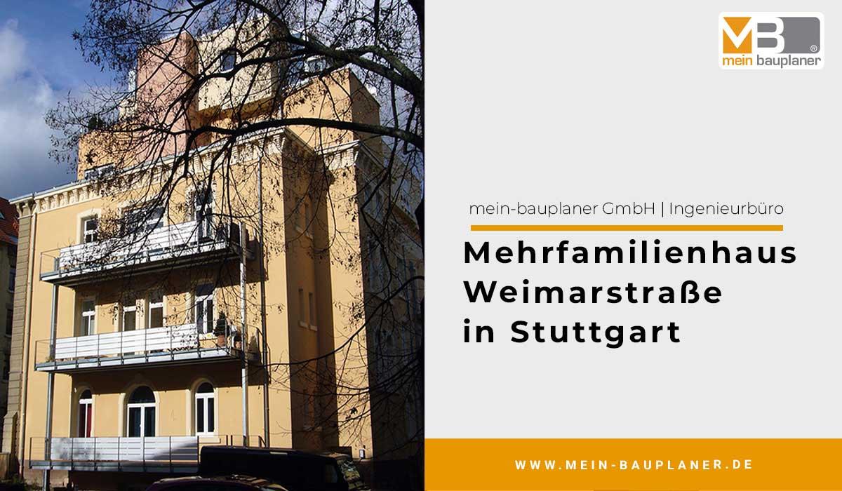 Mehrfamilienhaus Weimarstraße in Stuttgart 1