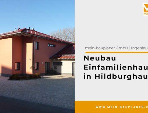 Neubau Einfamilienhaus in Hildburghausen