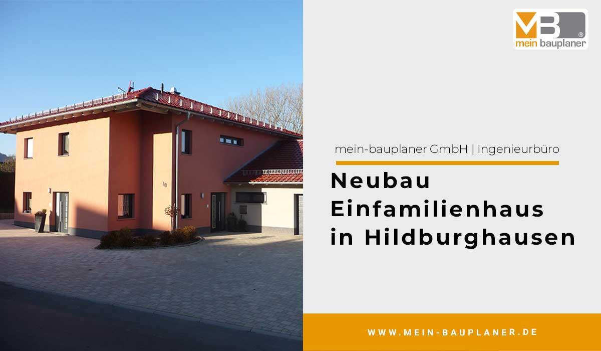 Neubau Einfamilienhaus in Hildburghausen 1