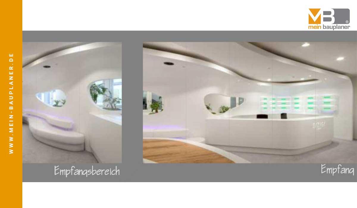 Projektstudie Open-Space-Office und Wohnungen, Berlin 2