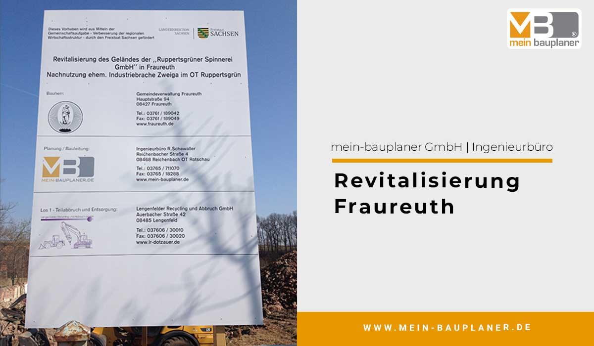 Revitalisierung Fraureuth 1