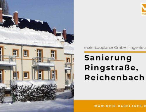 Sanierung Ringstraße in Reichenbach
