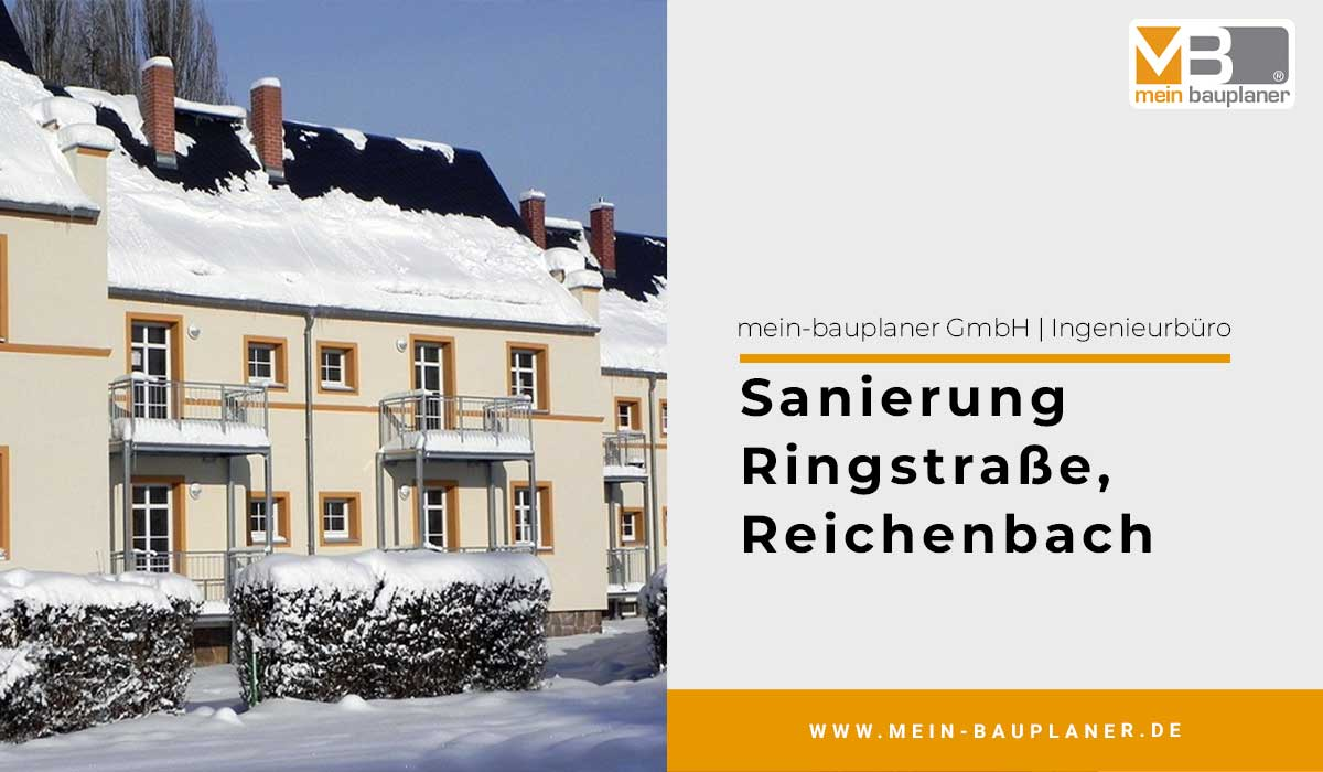 Sanierung Ringstraße in Reichenbach 1