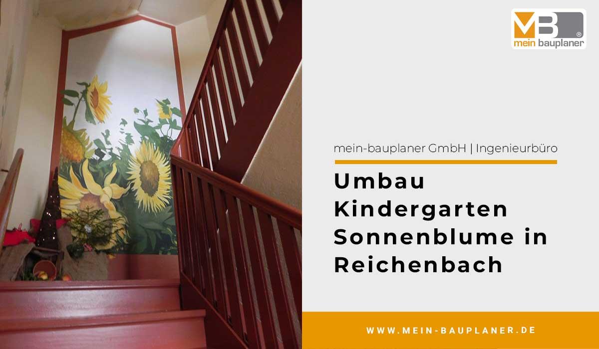 Umbau Kindergarten Sonnenblume in Reichenbach
