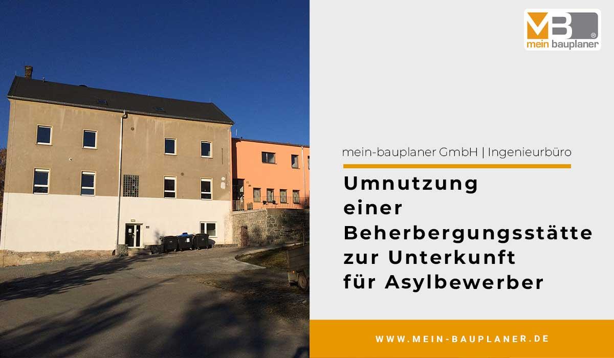 Umnutzung einer Beherbergungsstätte zur Unterkunft für Asylbewerber 1