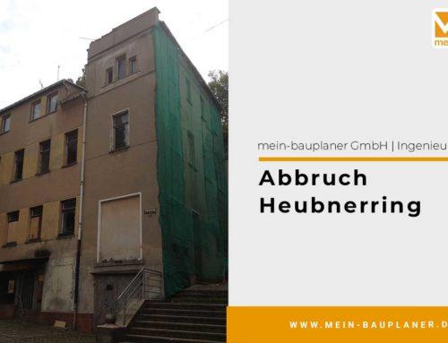 Abbruch Heubnerring