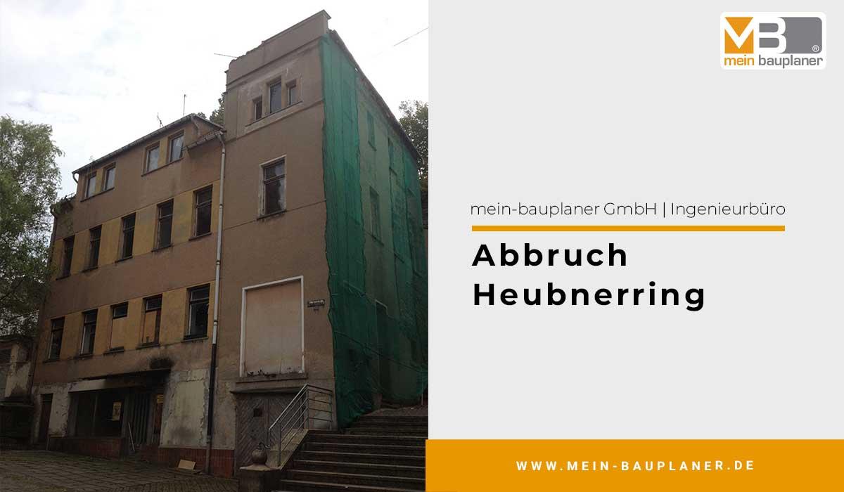 Abbruch Heubnerring 1