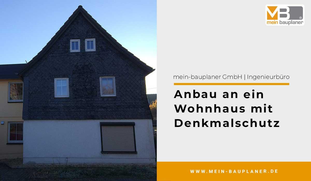 Anbau in Holzständerbauweise, an ein bestehendes Wohnhaus mit Denkmalschutz 1