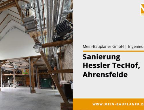 Sanierung Hessler-Techof