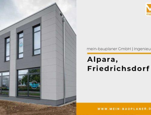 Neubau eines Fitnessstudios in Friedrichsdorf/2017